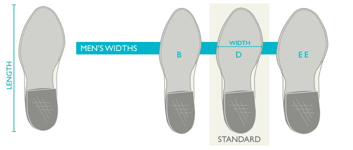 Mens Boot Length and Width