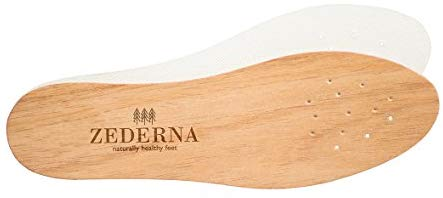 Insoles made from Cedar Wood