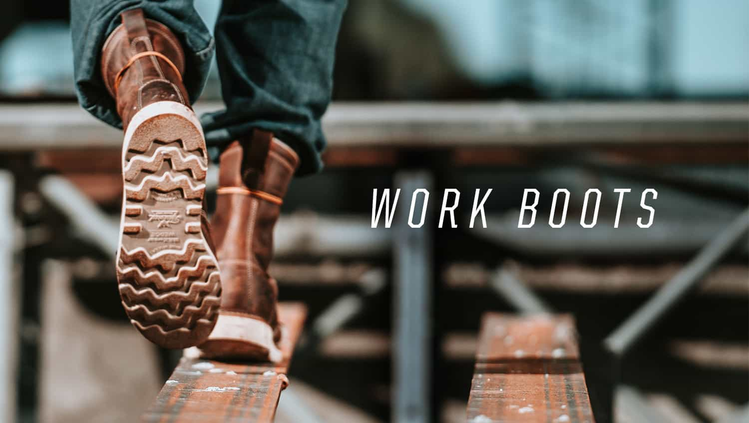 Safety Boots to work at height