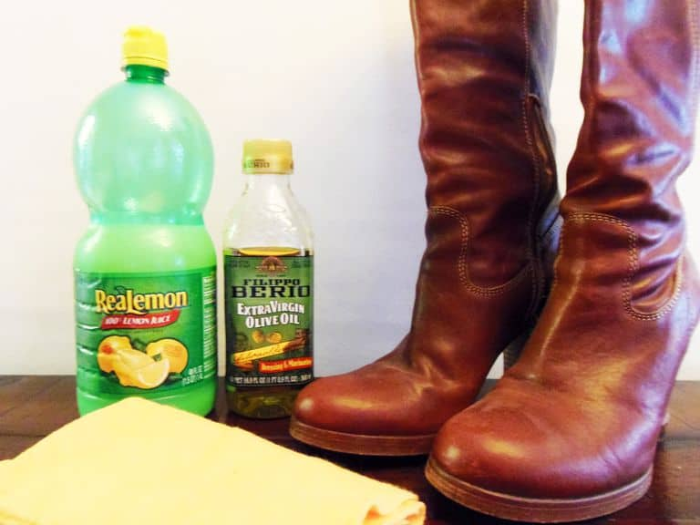 OLIVE OIL Restores Shine of your Leather Boots