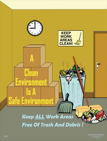 Provide a clean environment to your employees