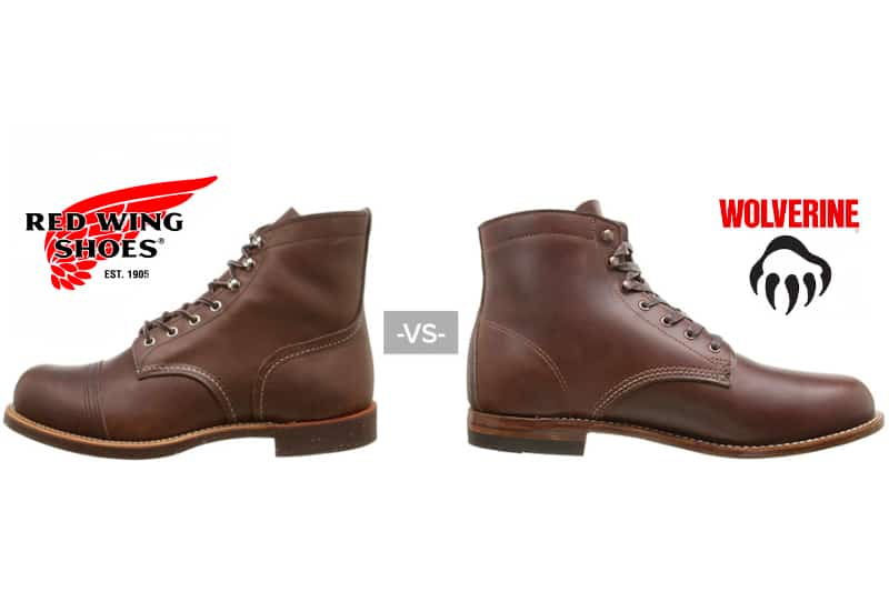 Redwing vs wolverine boots