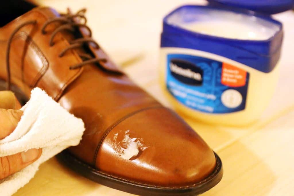 VASELINE is an Effective Remedy for Stains and Scuff Marks