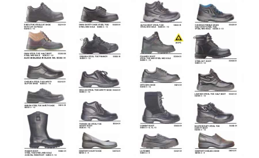 Steel Toe Shape and Size
