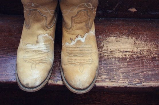 When your Boots are Stained with Ink
