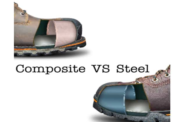 difference between Composite Toe and Steel Toe
