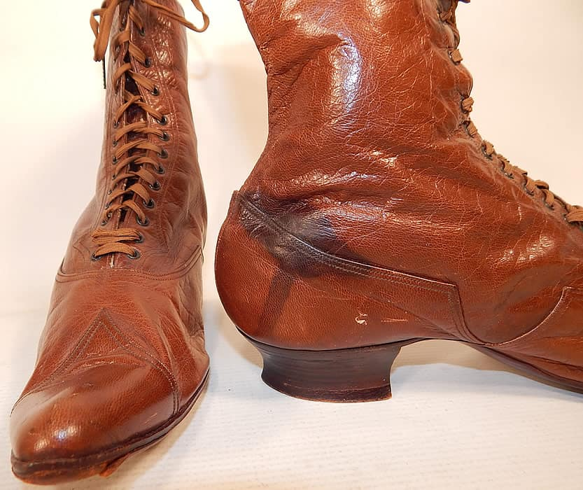water stains on leather boots