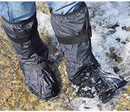 waterproof cover over your leather boots