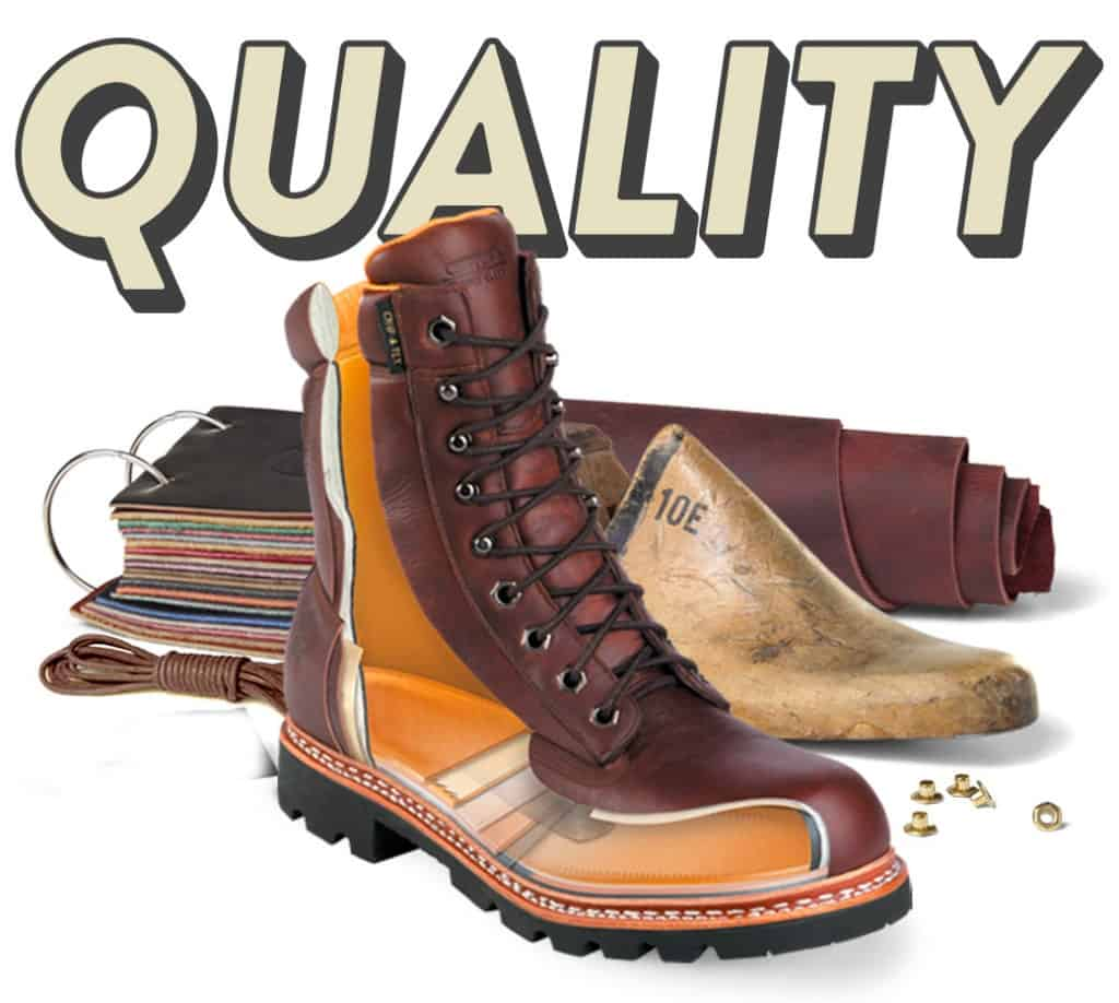 Quality of Leather Boots