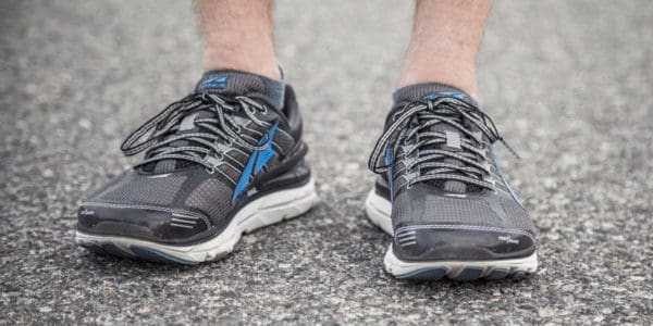 Running Shoes does not have safety toe