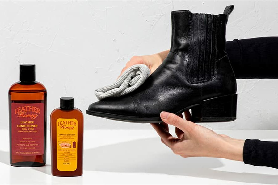 Use Leather Conditioner to Soften the Fibers of boot