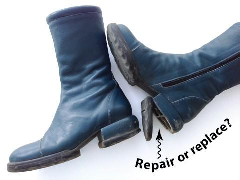 boot heel repair