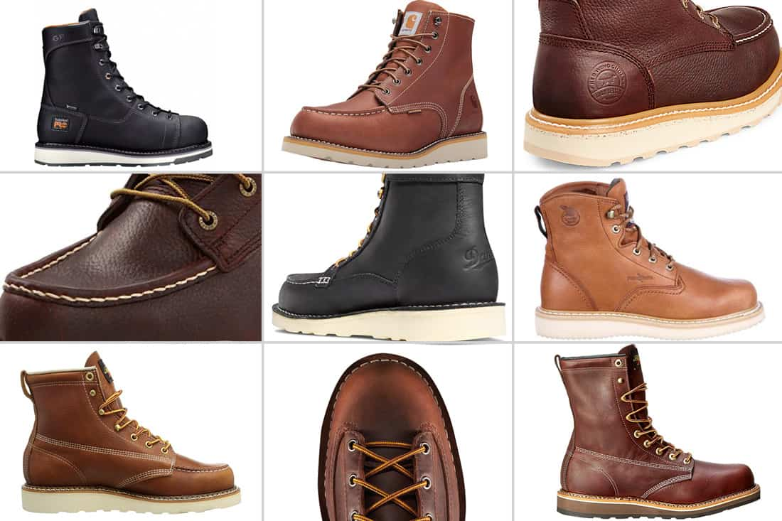 Choice of Weight and sizes wedge sole boots