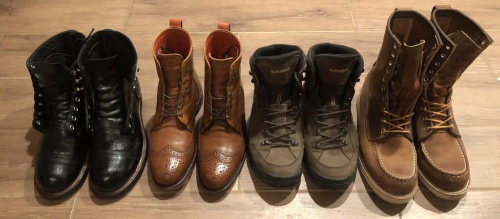 Keep an alternative pair of boots