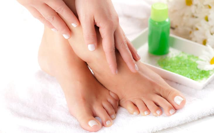 Wash your feet with dettol or anti-septic liquid regularly
