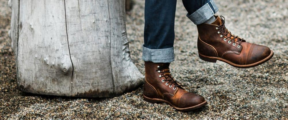 Iron Ranger Red Wing Shoes