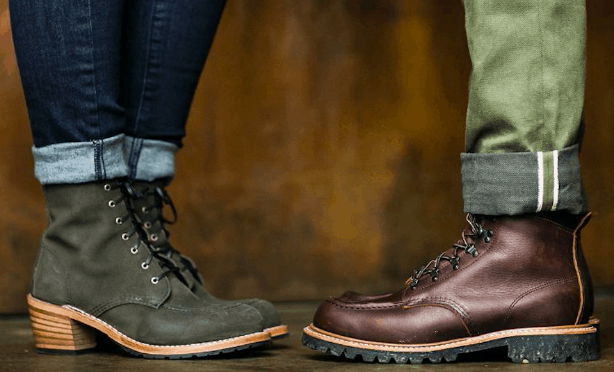 Redwing boots feature