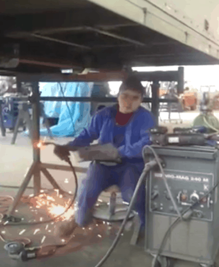 Risk of Not Wearing Safety Boots for Welding