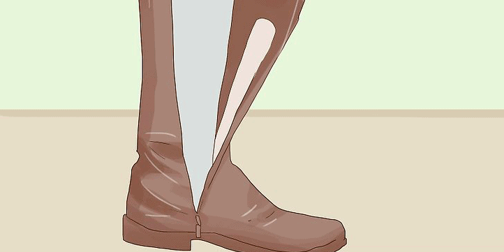 Use a Metallic Strap to Tighten the Calf:Ankle area
