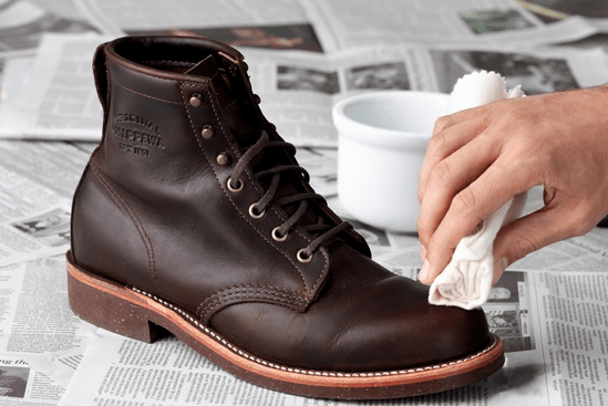 Using Alcohol to Remove Creases from New or Old Leather Boots