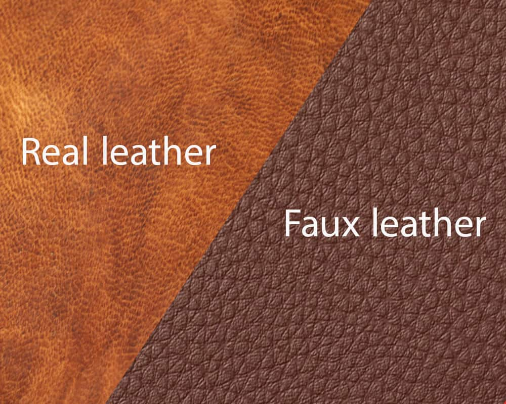 Synthetic Vs Genuine Leather Shoes/Boots
