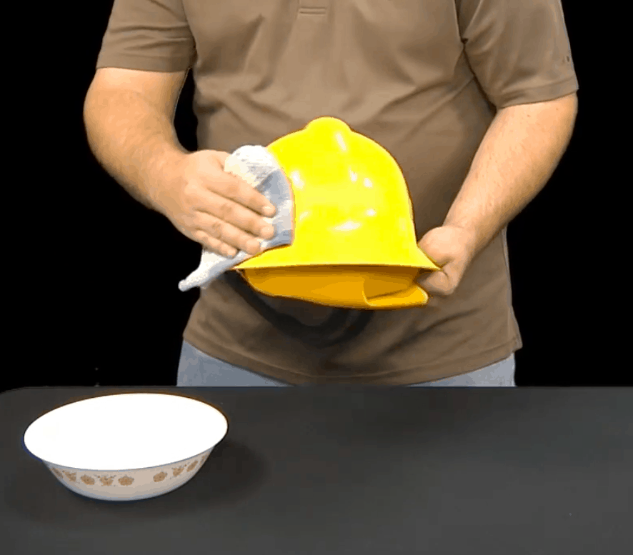 Cleaning Hard Hats