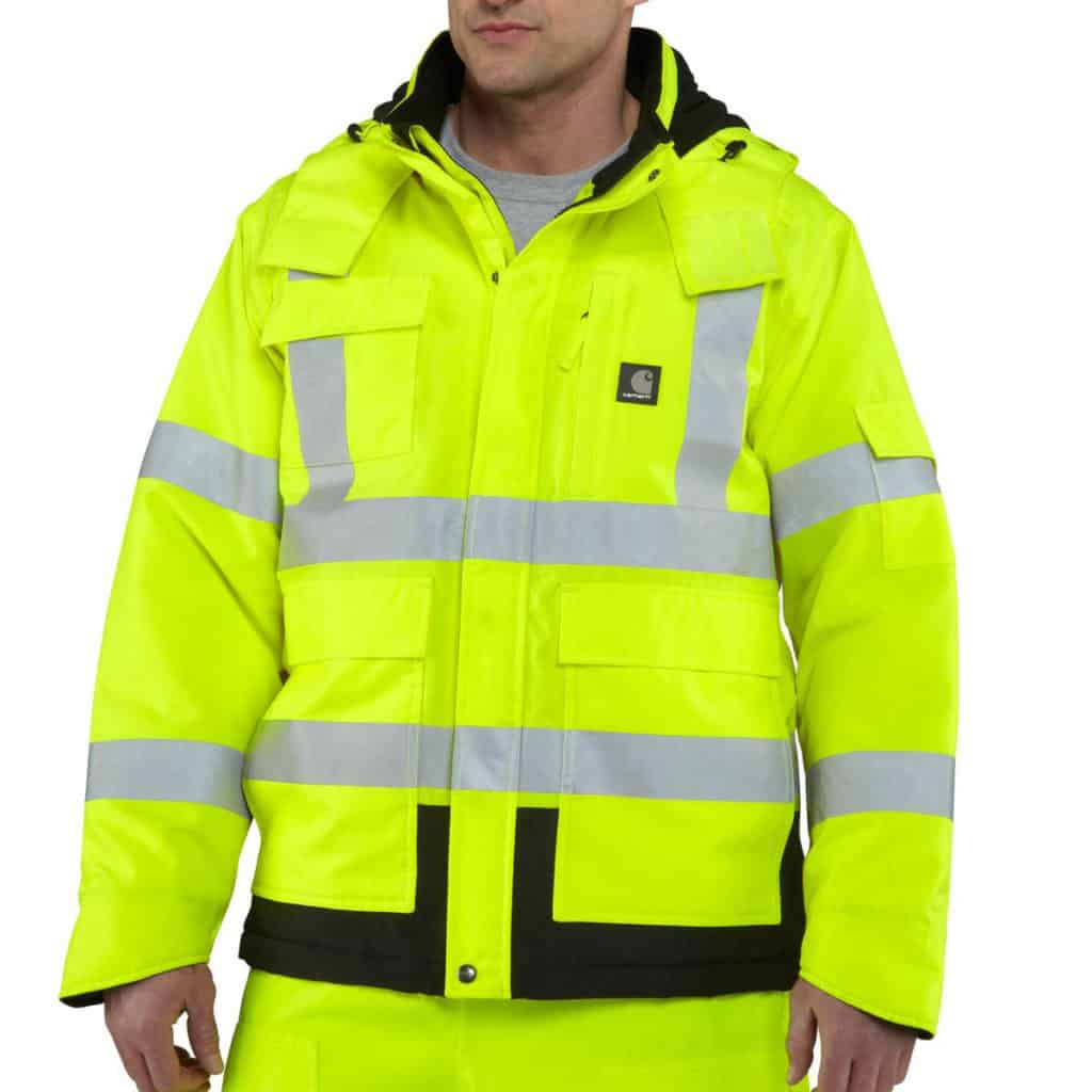 High visibility class 3 clothing