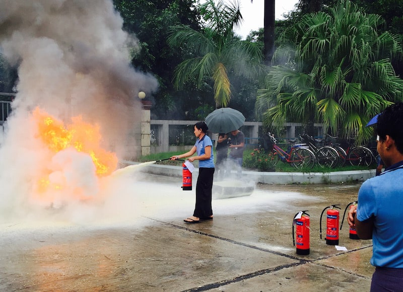 Importance of Fire Safety Training