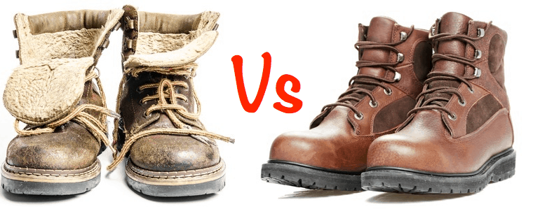 Insulated vs uninsulated boots
