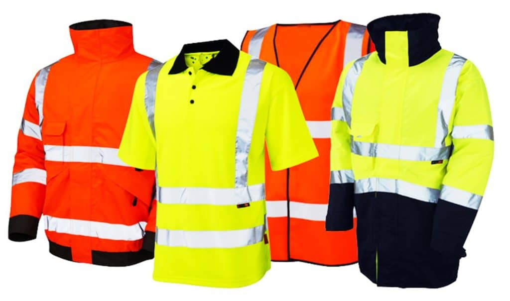 colors of the high visibility clothing