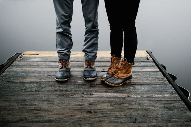 water-resistant boots are more stylish