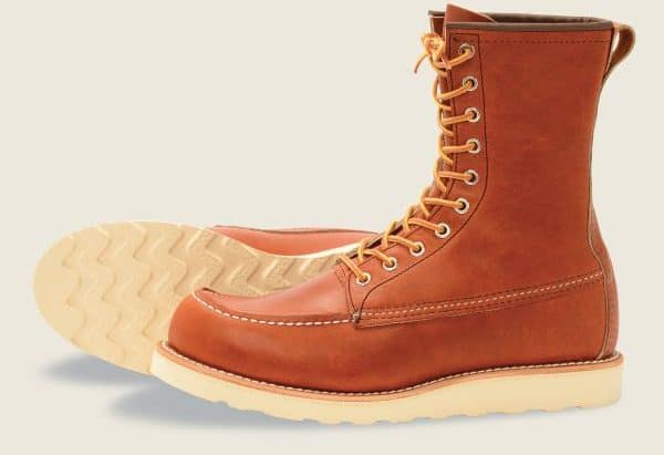 Redwing 8-inch classic moc boot