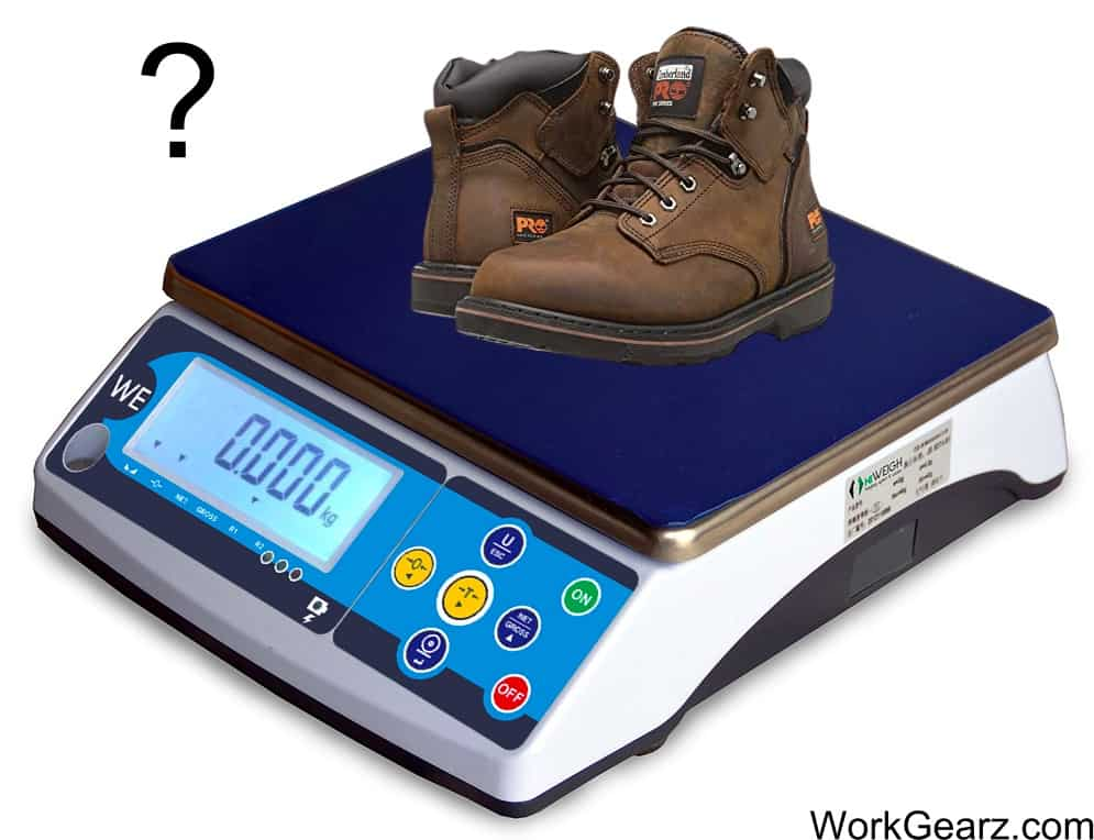 How Much Do Work Boots Weigh