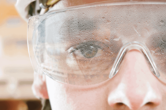 How to Prevent Safety Glasses from Fogging Up?