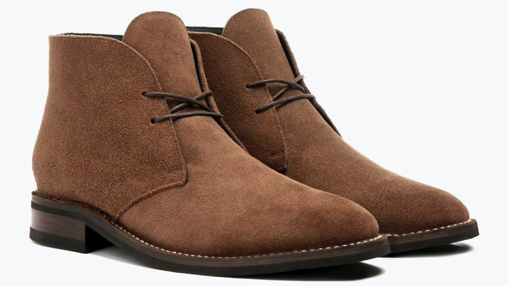 Suede boots weight