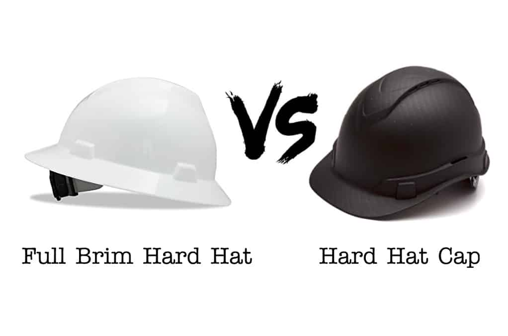 Full Brim Hard Hats Vs. Hard Hat Caps: Which One You Should Buy?