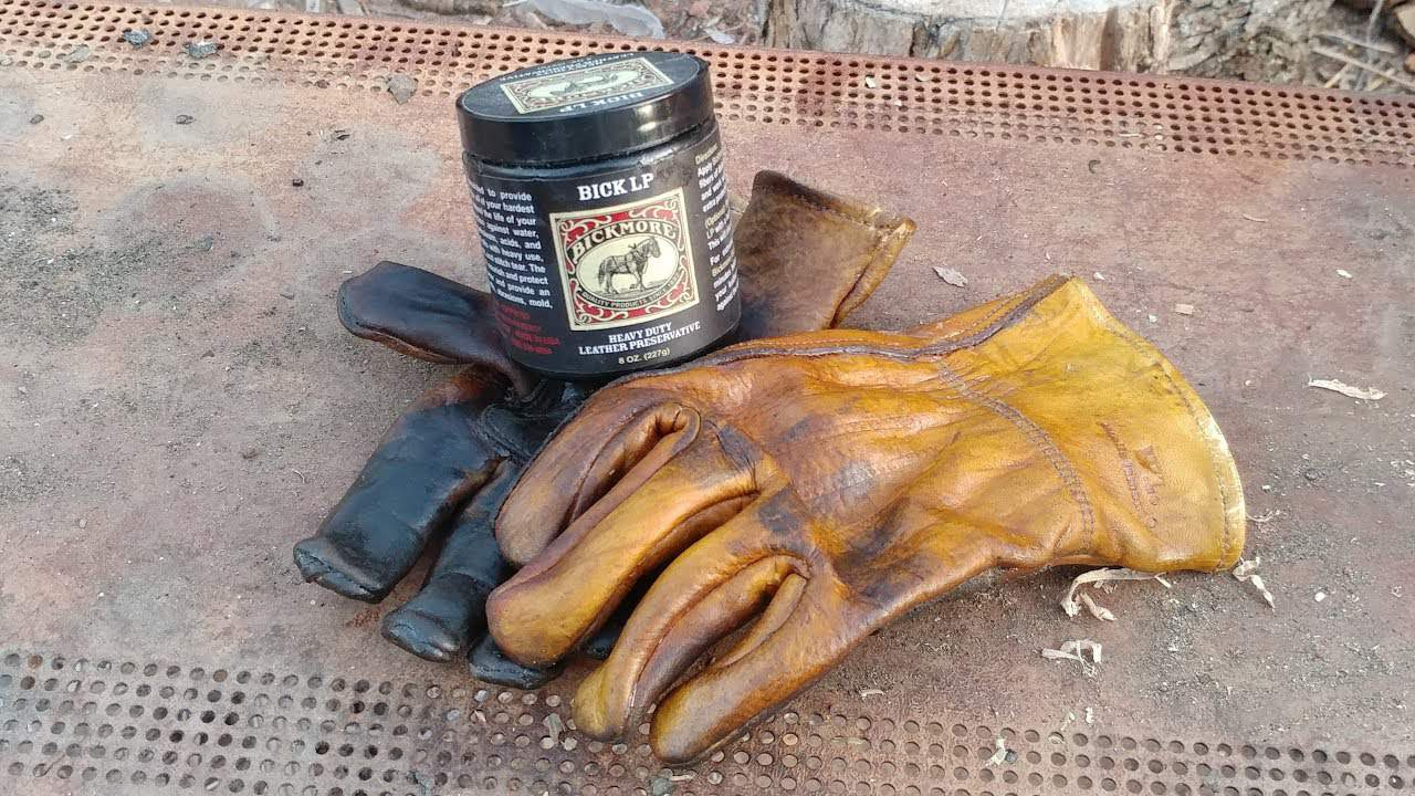How to Condition Leather Work Gloves