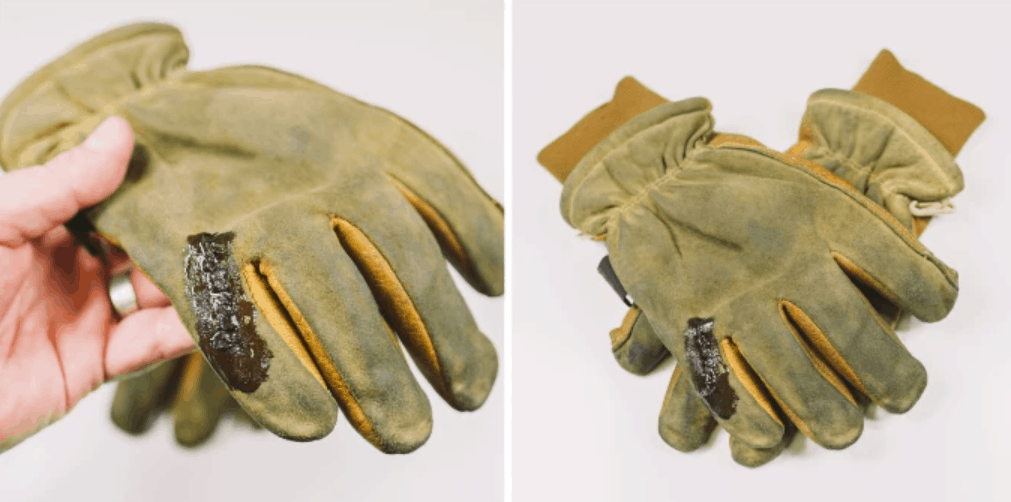 Restore your Torn Leather Work Gloves