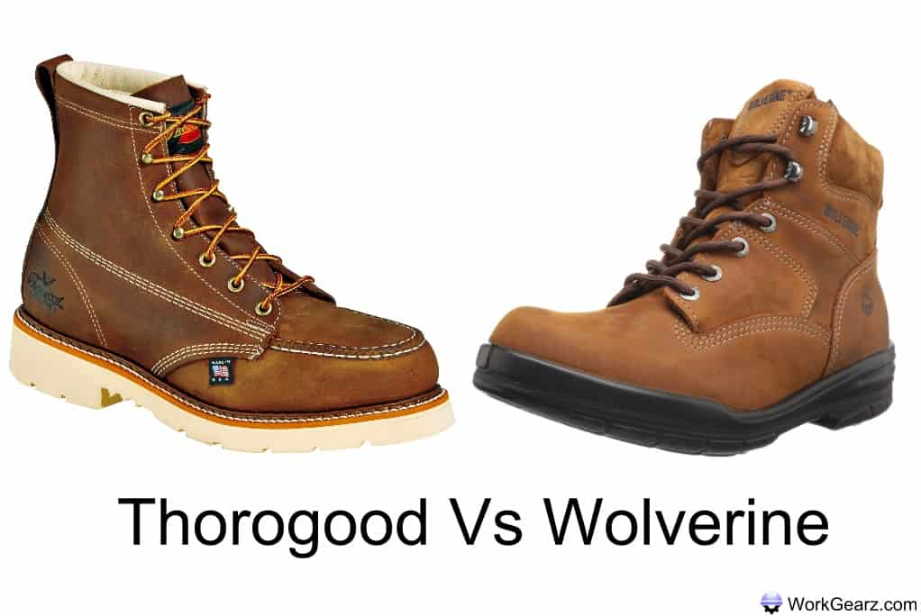 Thorogood Vs Wolverine Work Boots