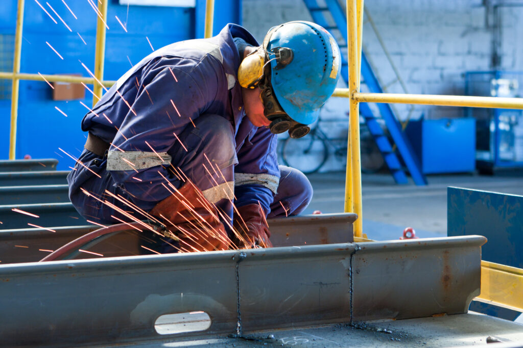 Do Welders Wear Special Glass Goggles While Working