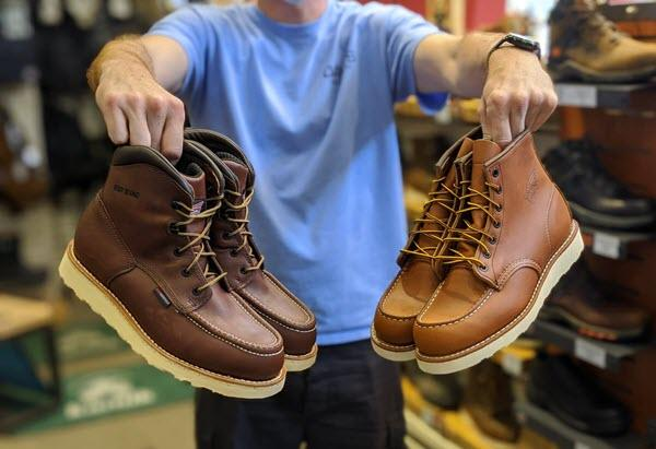 Best Moc Toe Work Boots