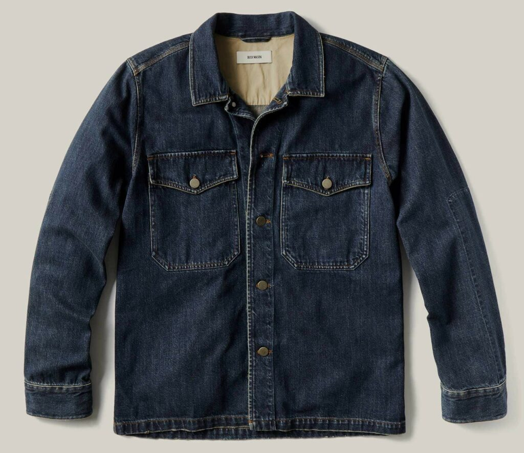 Buck Mason Denim Field Shirt