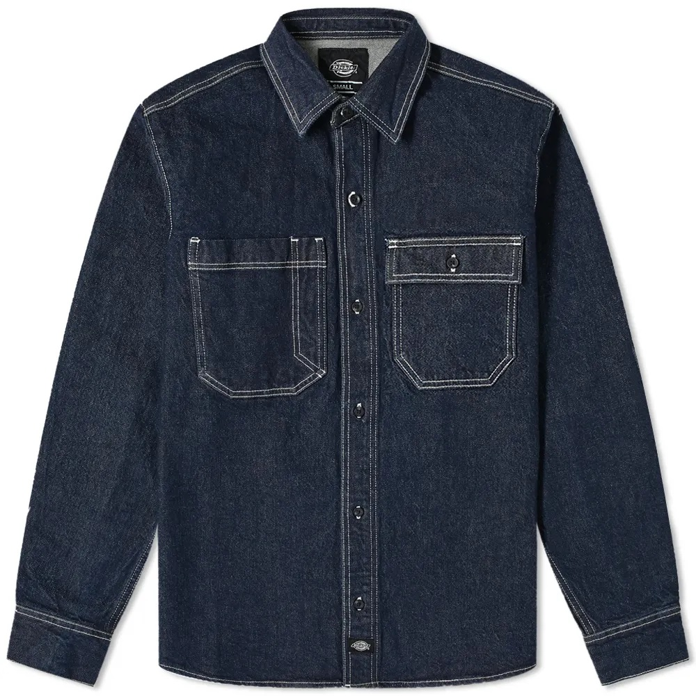 Dickies Denim Paincourtville Work Shirt
