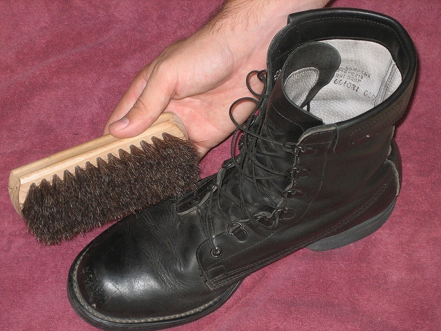 Do You Need to Use Brush on Work Boots