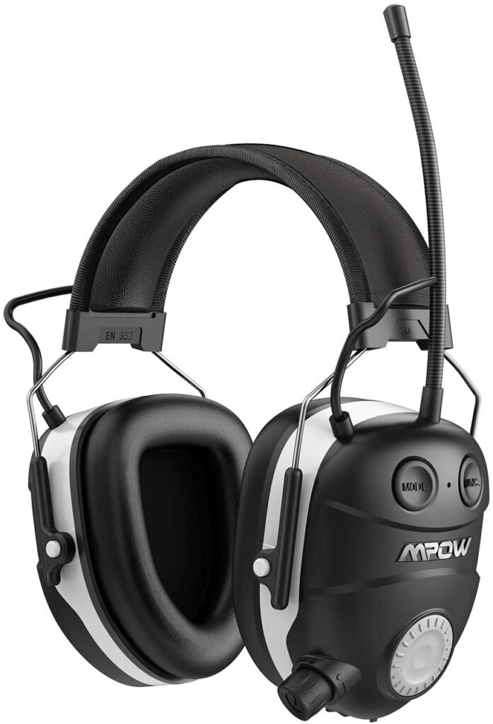 Mpow Bluetooth Noise Reducing Safety Earmuffs