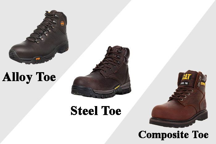 Composite, Alloy, or Steel Toe Boots