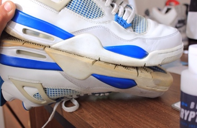 How to Clean Yellowing Soles in Shoes