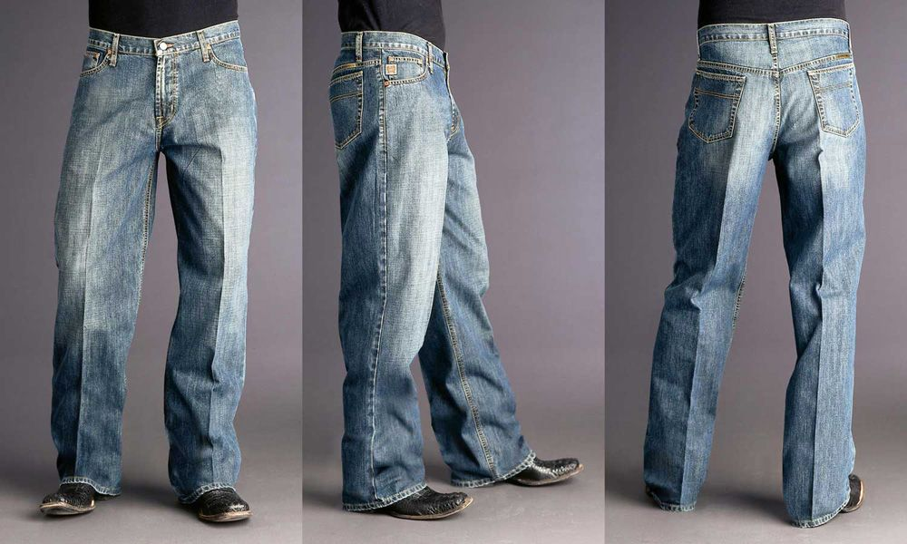 Why are Cowboys Jeans so Starched