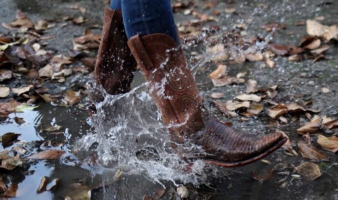 Can Water Damage Cowboy Boots