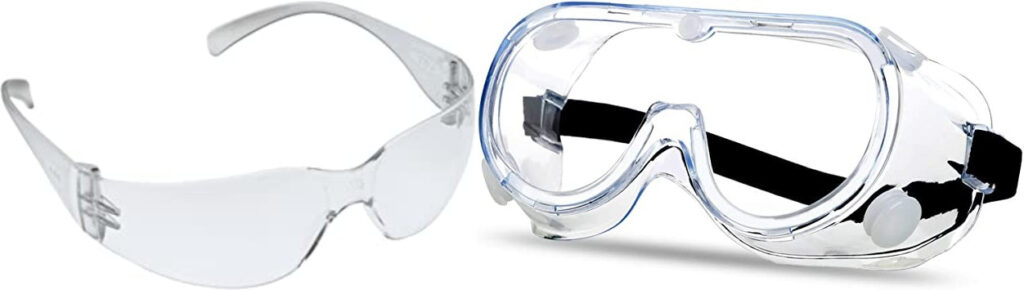 Difference Between Safety Glasses and Safety Goggles